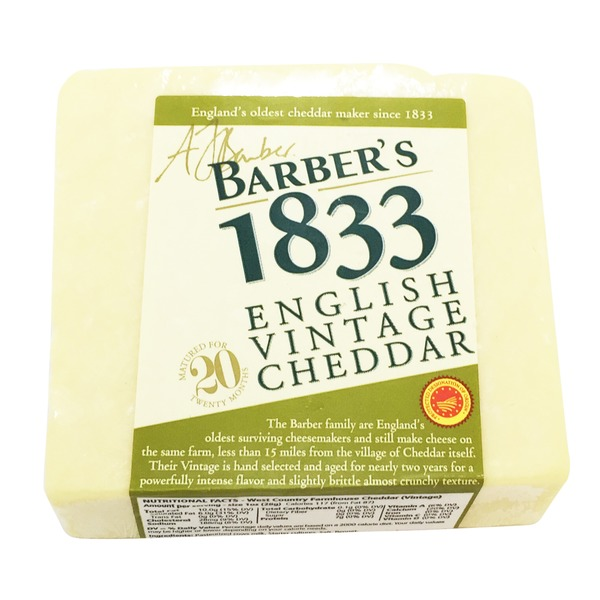 Barber's Vintage English Cheddar Aged 20 Months