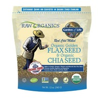 Garden of Life Organic Flax Meal & Chia Seeds