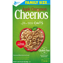 Apple Cinnamon Cheerios Cereal