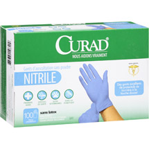 Curad Nitrile Powder-Free Exam Gloves