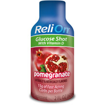 ReliOn Pomegranate Glucose Shot Dietary Supplement