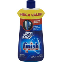 Finish Jet Dry Dishwasher Rinse Aid
