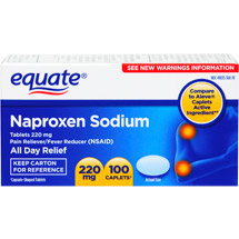 Equate Pain Reliever/Fever Reducer Naproxen Sodium