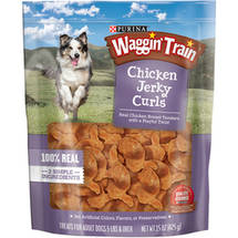Waggin' Train Chicken Jerky Curls Dog Treats