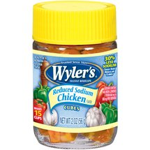 Wyler's Chicken Reduced Sodium Bouillon Cubes