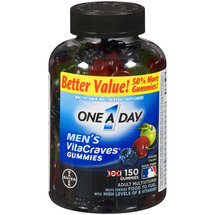One A Day Men's VitaCraves Adult Multivitamin Gummies