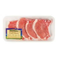 Natural Bone In Center Pork Loin Chops