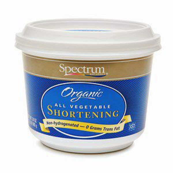 Spectrum Organic All Vegetable Shortening Butter Flavor