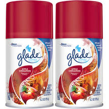 Glade Apple Cinnamon Automatic Spray Air Freshener Refill