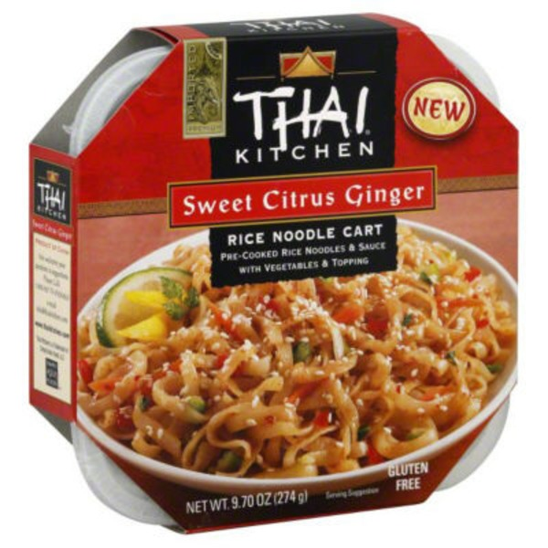 Thai Kitchen Sweet Citrus Ginger Rice Noodle Cart