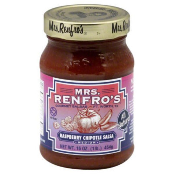 Mrs. Renfro's Raspberry Chipotle Salsa Medium