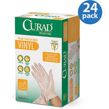 Medline Curad Vinyl Exam Glove
