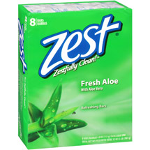 Zest Fresh Aloe Refreshing Bar Soap