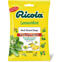 Ricola Lemon Mint Sugar Free Herb Throat Drops