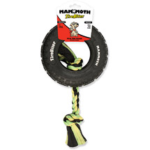 Mammoth TireBiter Small Dog Toy with Rope 6