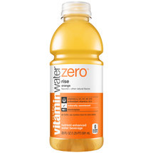 Glaceau vitaminwater Zero Rise Orange Nutrient Enhanced Water Beverage