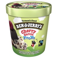Ben & Jerry's Cherry Garcia Frozen Yogurt