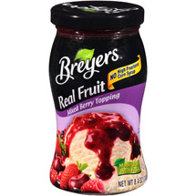 Breyers Real Fruit Mixed Berry Topping