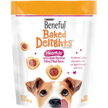 Beneful Treats Baked Delights Heartfuls Dog Snacks