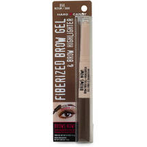 Hard Candy Brows Now! Fiberized Brow Gel & Brow Highlighter Medium Dark