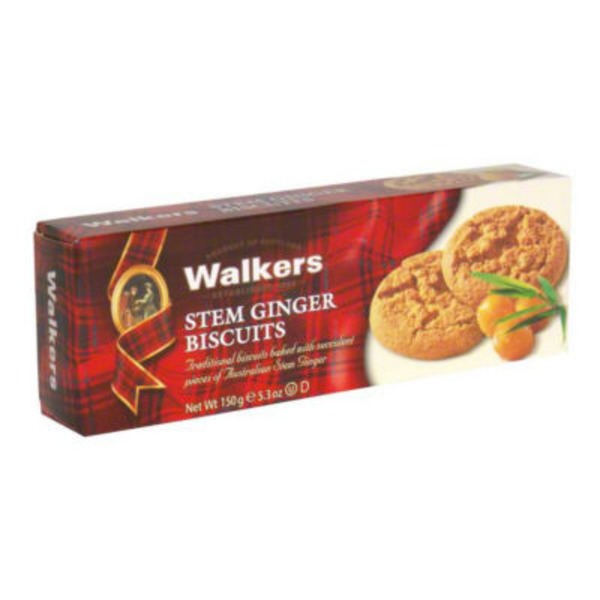 Walkers Biscuits, Stem Ginger