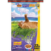 Friskies Dry Cat Food Surfin' and Turfin' Favorites