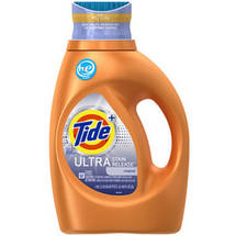 Tide Liquid Detergent Ultra Stain Remover 40oz