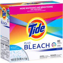 Ultra Tide Plus Bleach Original Scent Powder Laundry Detergent