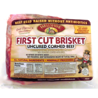 Wellshire Farms First Cut Brisket Uncured Corned Beef