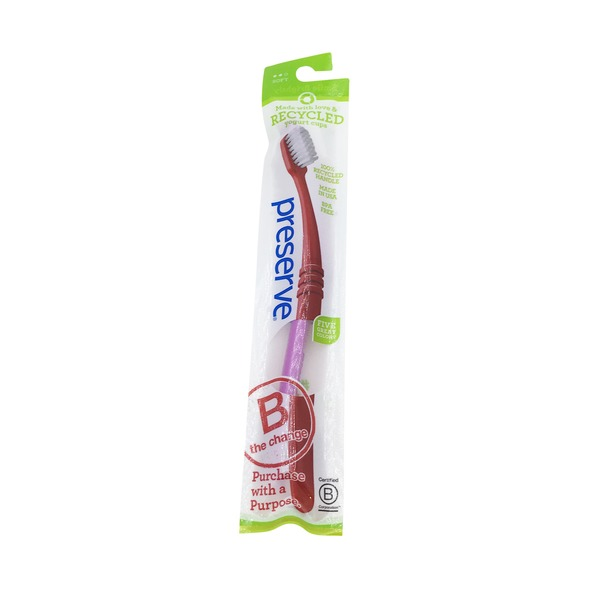 Preserve Toothbrush, Soft