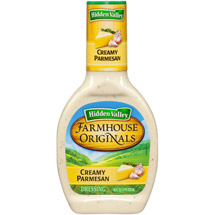 Hidden Valley Farmhouse Originals Dressing Creamy Parmesan 16 Fluid Ounce Bottle