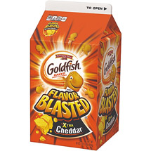 Pepperidge Farm Goldfish Flavor Blasted Xtra Cheddar Baked Snack Crackers