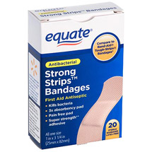 Equate Strong Strips Bandages