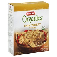 H-E-B Organics Thin Wheat Crackers