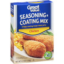 Great Value Chicken Seasoning & Coating Mix