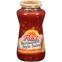 Pace Fire-Roasted Tomato & Corn Restaurant Style Salsa