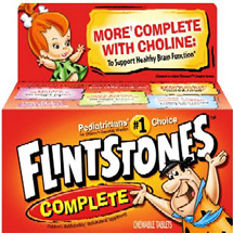 Flintstones Complete Children's Multivitamin