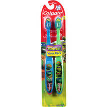 Colgate Nickelodeon Teenage Mutant Ninja Turtles Extra Soft Toothbrushes