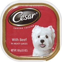 Cesar w/Beef In Meaty Juices Canine Cuisine