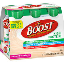 Boost High Protein Nutritional Strawberry Energy Drink