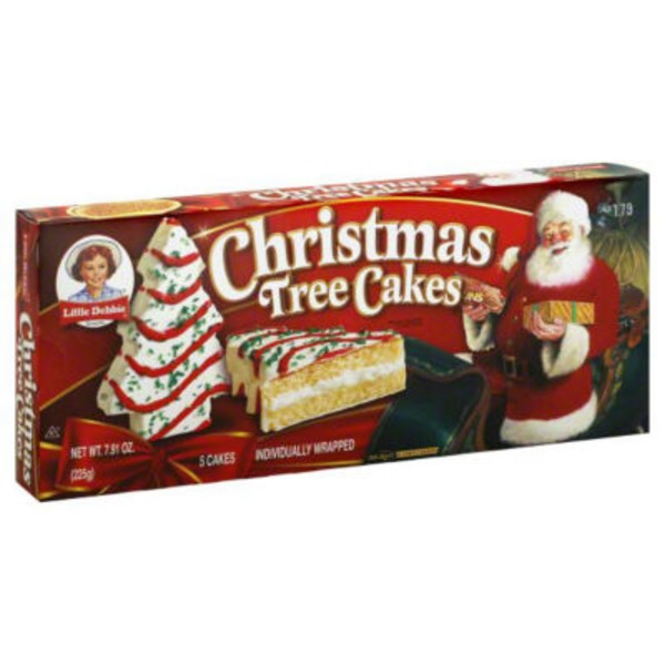 Little Debbie Christmas Tree Cake