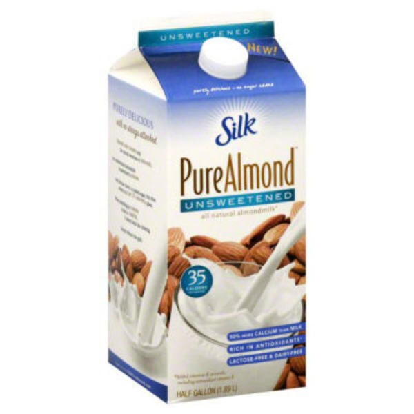 Silk Unsweetened Original Almondmilk