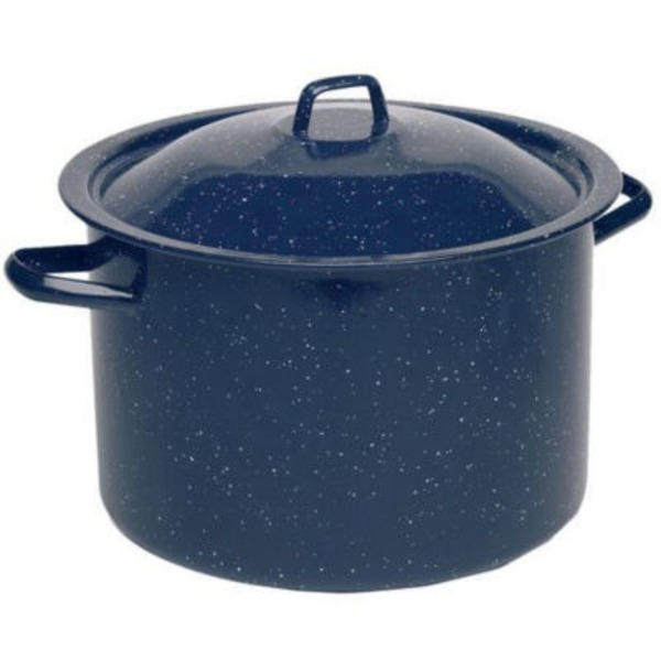 Imusa 12 Quart Blue Stock Pot