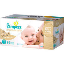 Pampers Premium Care Disposable Diapers Super Pack Size 1