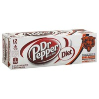 Dr. Pepper Diet Soda Cans
