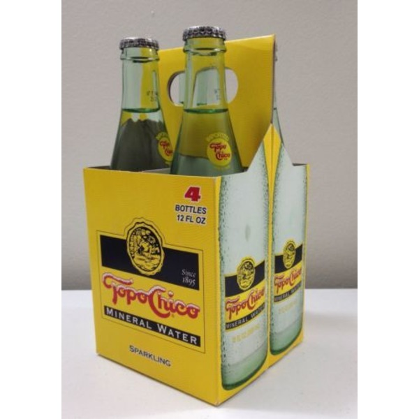 Topo Chico Water, Mineral, 4 Pack