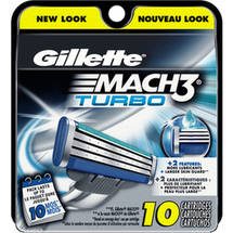 Gillette Mach3 Turbo Refill Cartridges