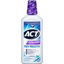 Act Total Care Soothing Mint Anticavity Fluoride Rinse