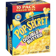 Pop Secret Double Butter Microwave Popcorn