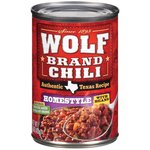 Wolf Homestyle Chili With Beans